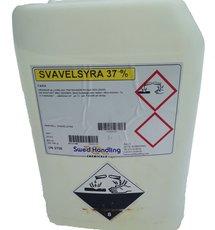 Svavelsyra 37% 32 kg 25 liter